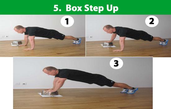 box step up