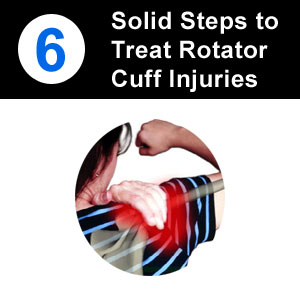how to treat rotator cuff injury