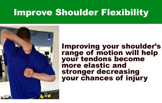 improve shoulder flexibility
