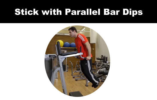 parallel dips