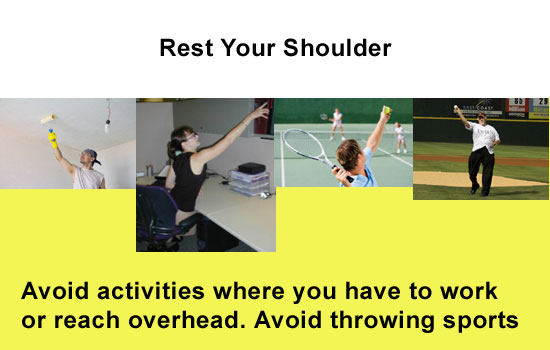 rest your rotator cuff